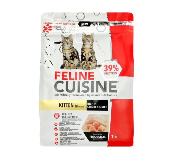 FELINE CUISINE Kitten Food (All variants) (1 x 1kg)