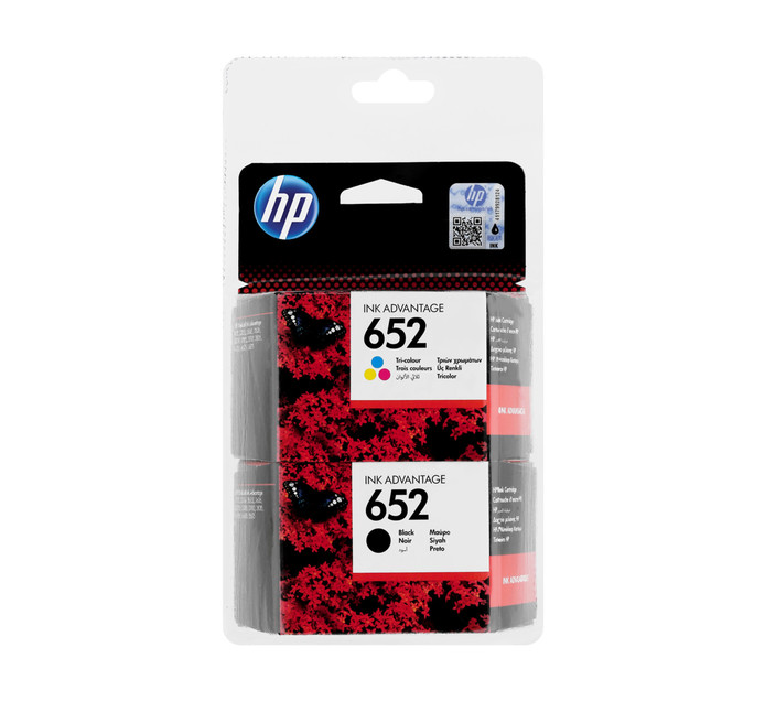 HP 652 Ink Cartridge Combo Pack
