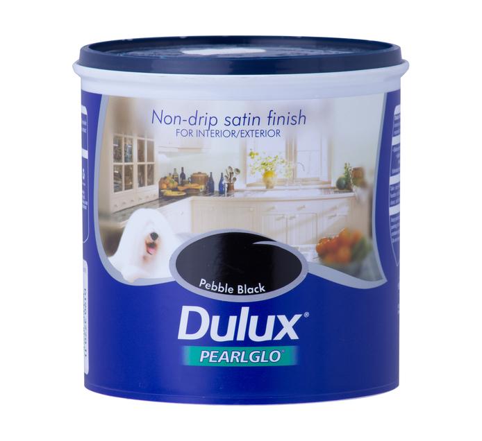DULUX 1L Enamel Paint Pebble black