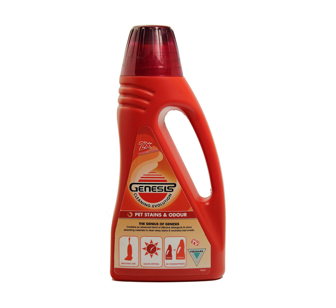 GENESIS 750ml Pet Stain and Odour Deep Cleaning Detergent