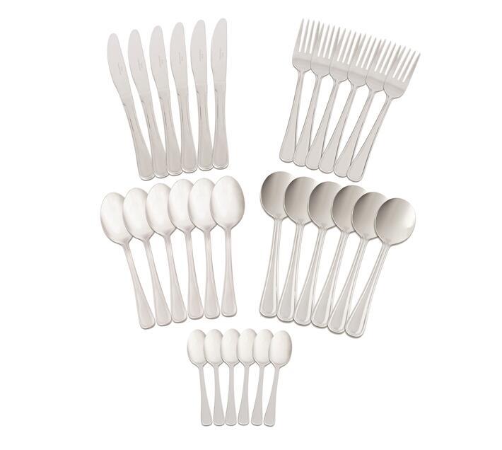 Bistro 30 Piece Cutlery Set