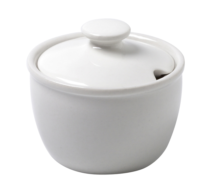 CONTINENTAL CROCKERY 200ml Sugar Bowl with lid