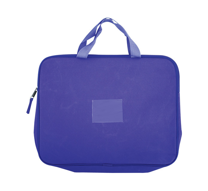 KENZEL A4 Book Bag With Handle Purple Each