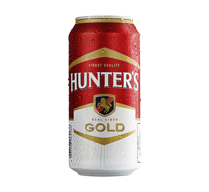 HUNTERS Gold Can (24 x 440ml)