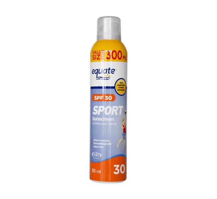 EQUATE Sport SPF30 Spray (1 x 300ml)