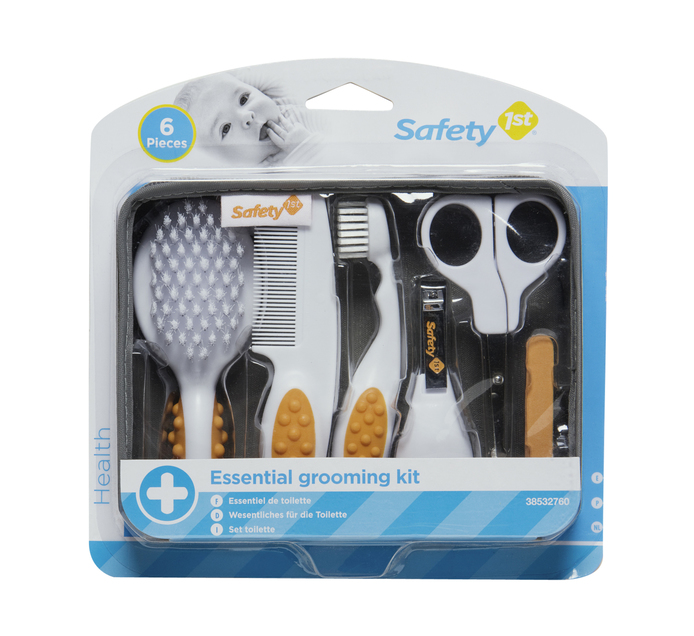 SAFETY FIRST 6pce Essential Grooming Kit