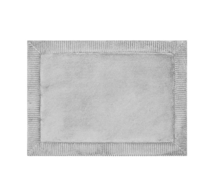 HOME LIVING 43 cm x 60 cm Verona Memory Foam Mat Silver