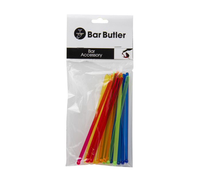 BAR BUTLER (LIQ) DRINK STIRRERS 20PC