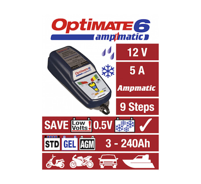 OPTIMATE Optimate 6 Battery Charger