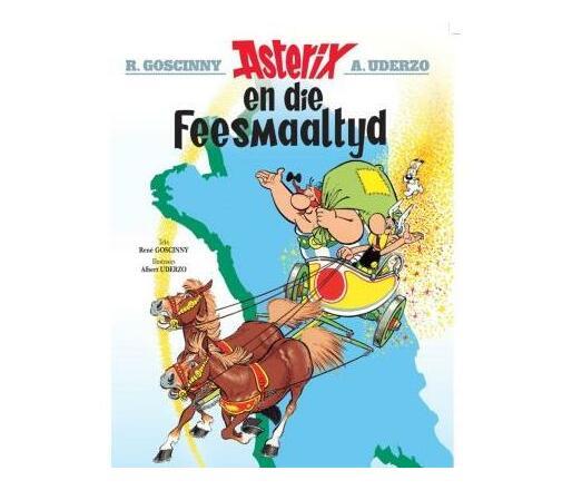 Asterix En Die Feesmaaltyd: Boek 5