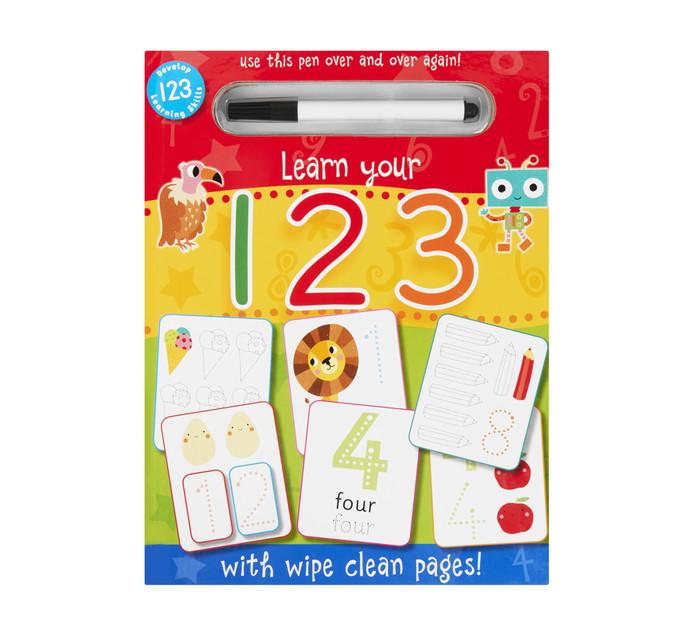 Wipe Clean 123
