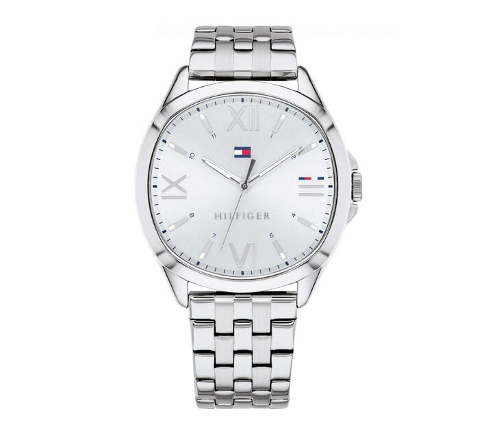 Tommy Hilfiger - Jade Ladies Watch - White Dial and Stainless Steel Strap
