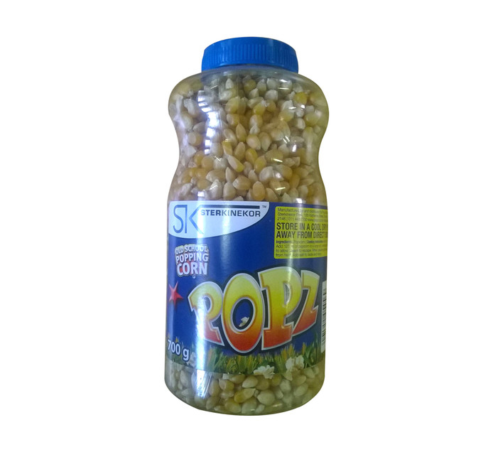 STERKINEKOR Popz Old School Popping Corn Popping Corn (1 x 700g)