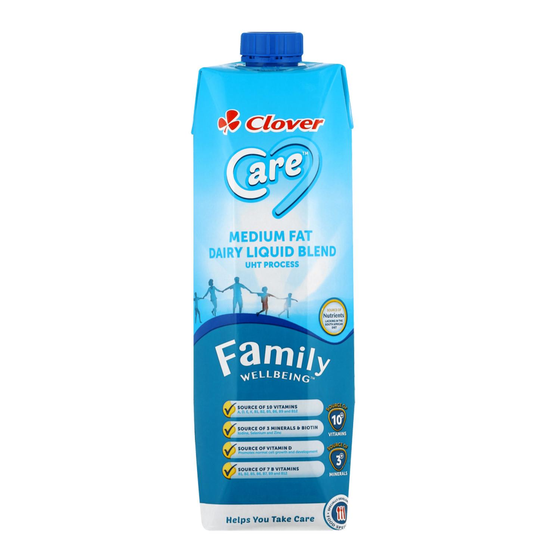 Clover Care Uht Full Cream Milk Milk (6 x 1lt)