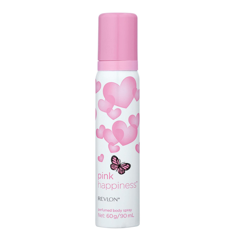 Revlon Body Spray Pink Happiness Ori (1 x 90ml)