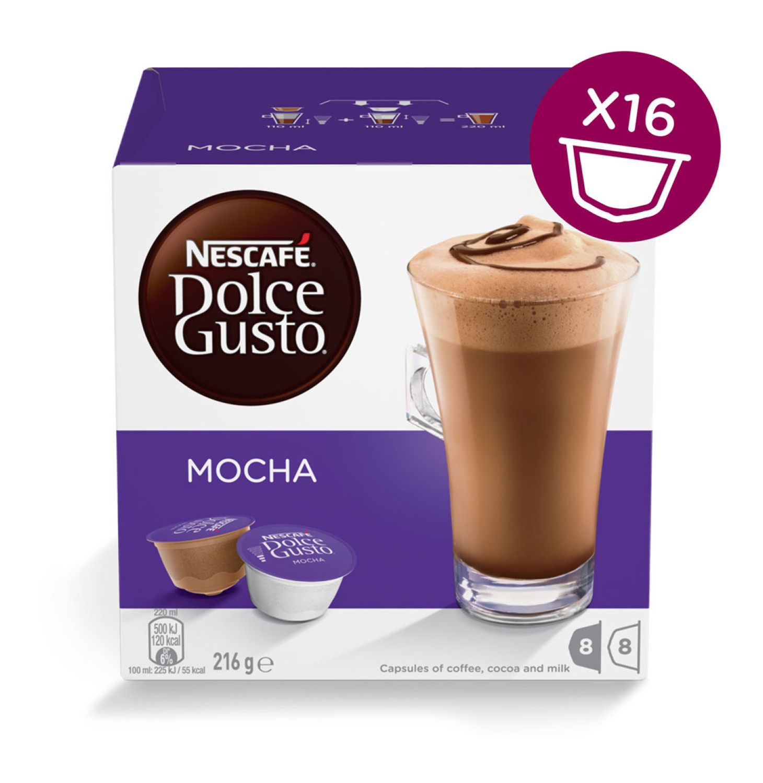 Nescafe Dolce Gusto Coffee Pods Mocha (3 x 200g)