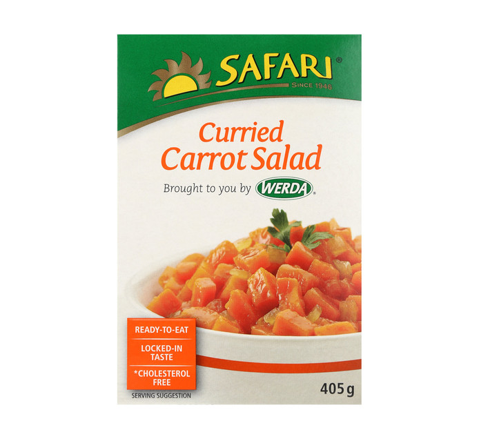 SAFARI Salad Curried Carrots (1  x 405g)