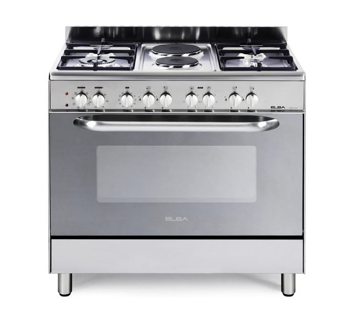 e00634b897e ELBA 900 mm 4-Gas Burner 2-Plate Stove