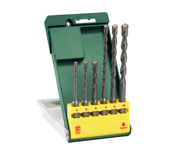 BOSCH 6 PC SDS Drill Bit Set