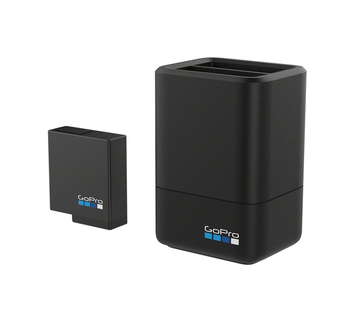 GOPRO Hero Dual Battery Charger + additional Battery (2018/5/6)