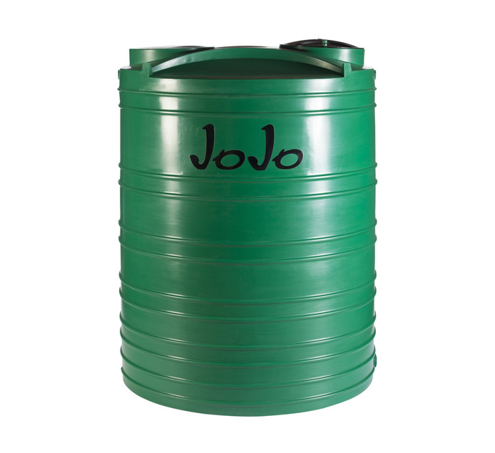JOJO TANKS 5000 Litres Vertical Water Tank Green