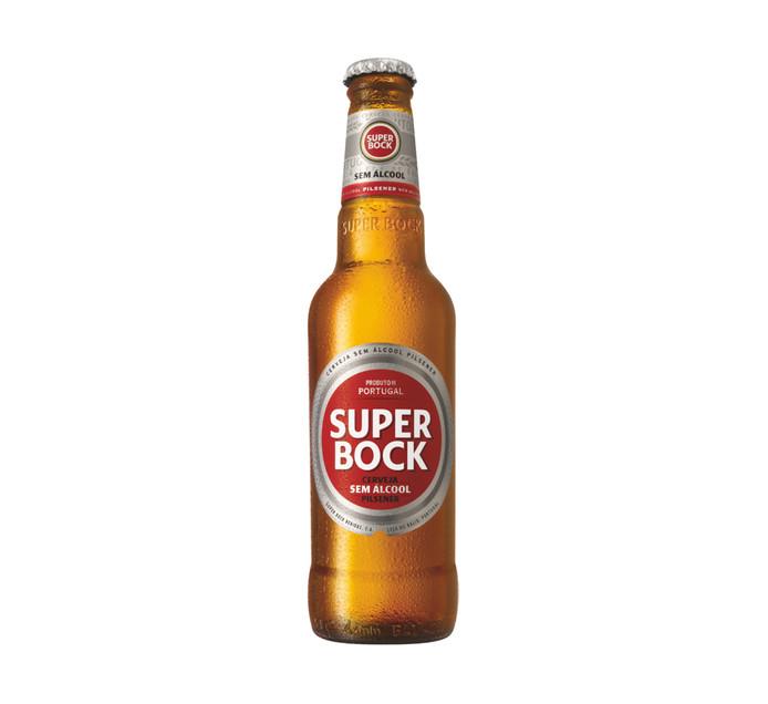 SUPER BOCK Non-Alcoholic Beer (6 x 330ml)