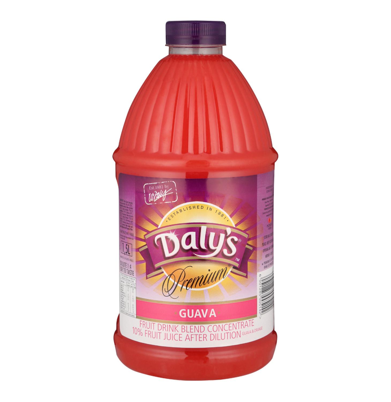 Daly's Premium Squash Guava (1 x 1.5l)