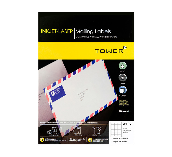Office Labels | Cutting & Sticking | Stationery Supplies