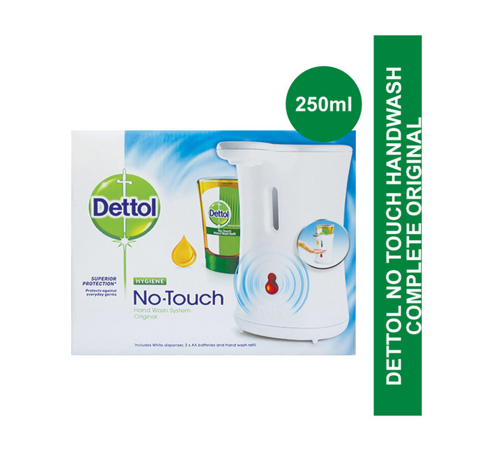 DETTOL No Touch Handwash system (All variants) (1 x 250ml)