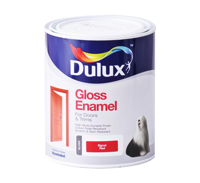 DULUX 1L Enamel Paint Signal red