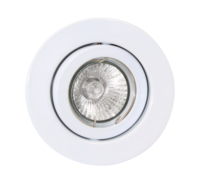 EUROLUX 12V Downlight Steel Tilt