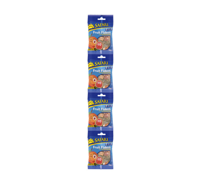 SAFARI Jungle Bites Fruit Flakes Strips (1 x 4's)