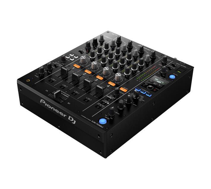 DJM-750K MKII 4Ch Digital Mixer, Roll Sampler, New Effect Freq Filter, 13 Beat Effects