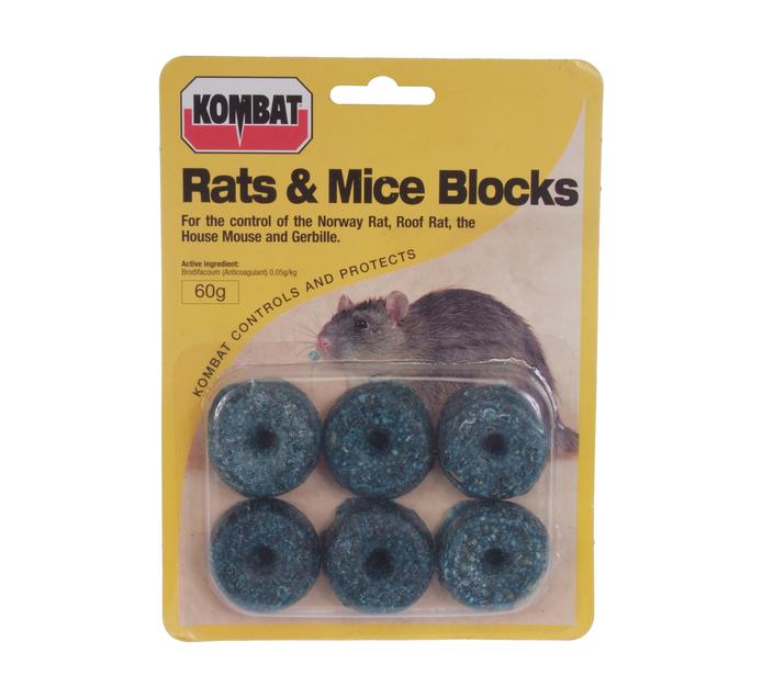 STARKE AYRES 60g Rats and Mice Blocks