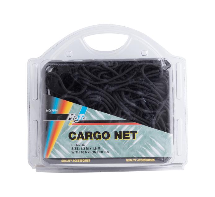 MOTO-QUIP 1.3X1.8m Cargo Net with Hooks