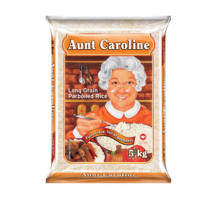 AUNT CAROLINE Parboiled Rice (4 x 5kg)