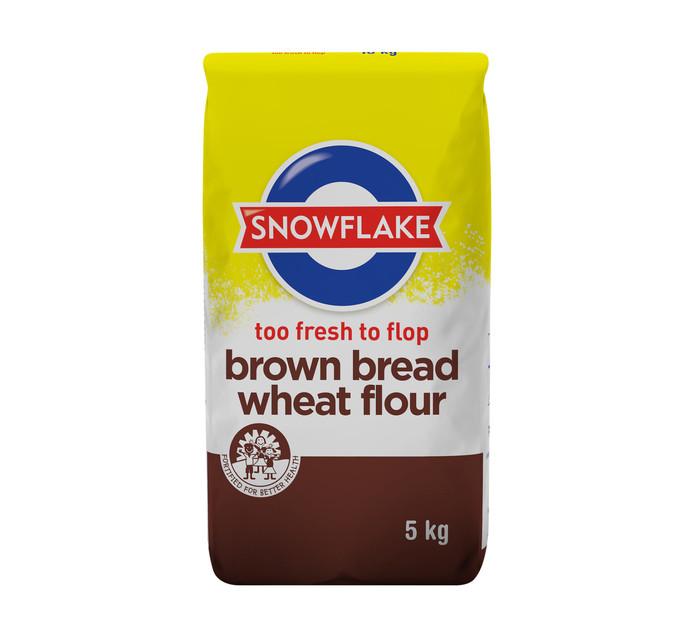 SNOWFLAKE Brown Bread Wheat Flour (1 x 5kg)