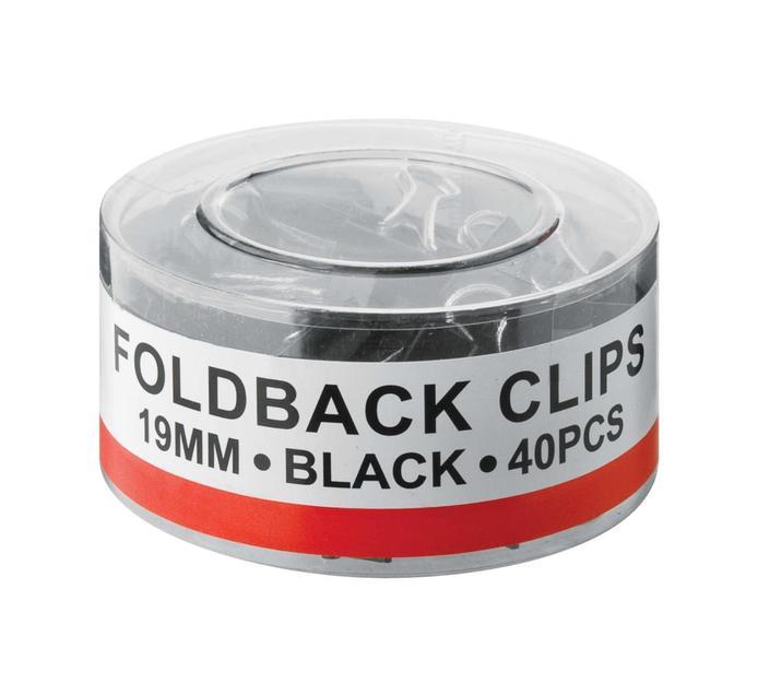 ARO 40 Pack Foldback Clips