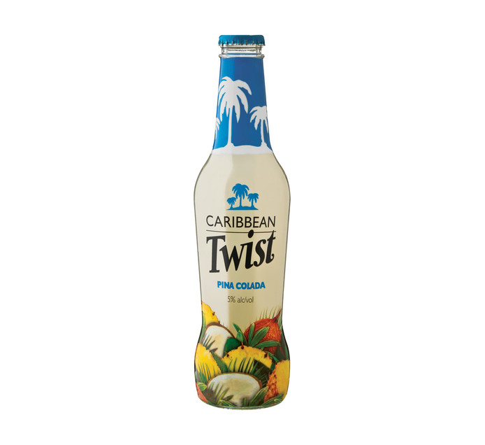 CARIBBEAN TWIST Pina Colada Spirit Cooler (6 x 275ml)