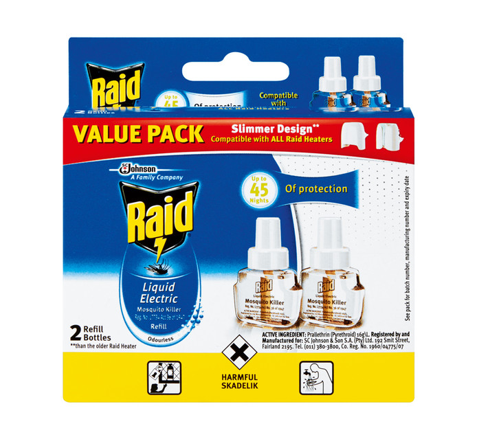 RAID ELECTRIC INSECT KILLER REFILL 2X33M