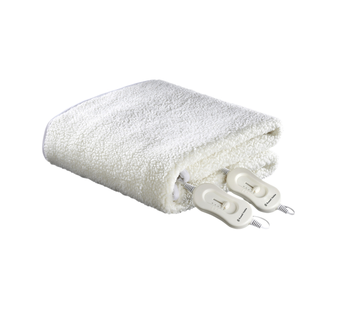 RUSSELL HOBBS King Washable Luxury Fleece Fully Fitted Electric Blanket