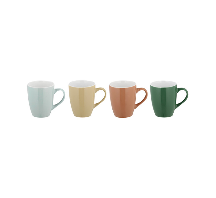 4 Pack New Autumn Coffee Mugs