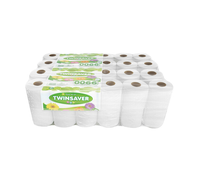 TWINSAVER Toilet Rolls 1Ply Unwrapped (1 x 48's)