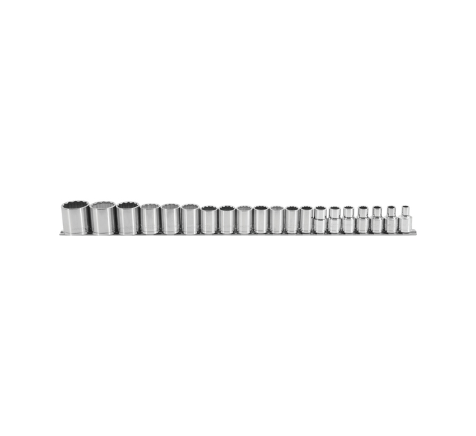 "MASTERCRAFT 20 PC 1/2"" Socket Set"