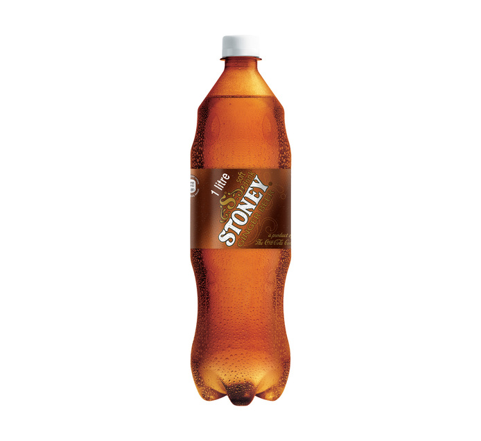 STONEY Soft Drink Ginger Beer Bottle (24 x 440ml)