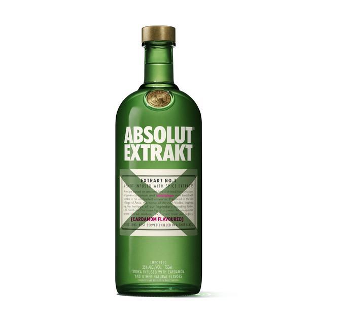 ABSOLUT Cardamom Flavoured Liqueur (1 x 750ml)