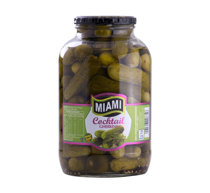 MIAMI Gherkins Cocktail (1  x 2kg)