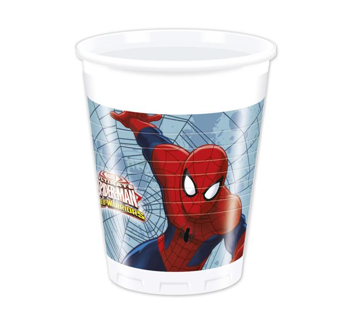 SPIDERMAN 200ml 8pk Cups