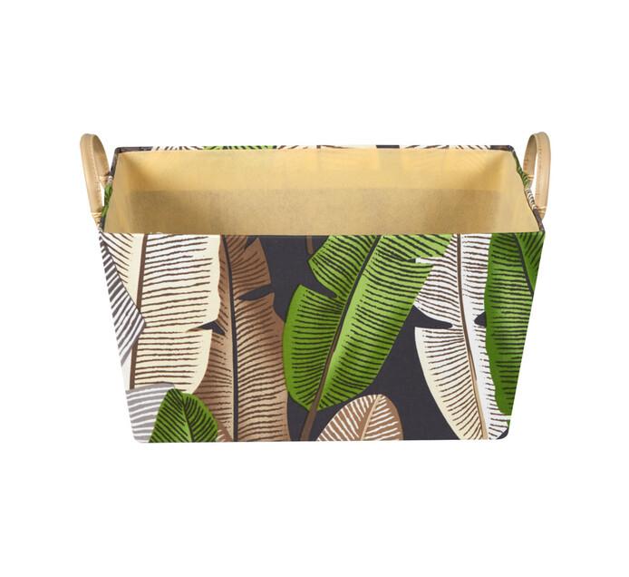 Medium Leaf Basket Rectangular