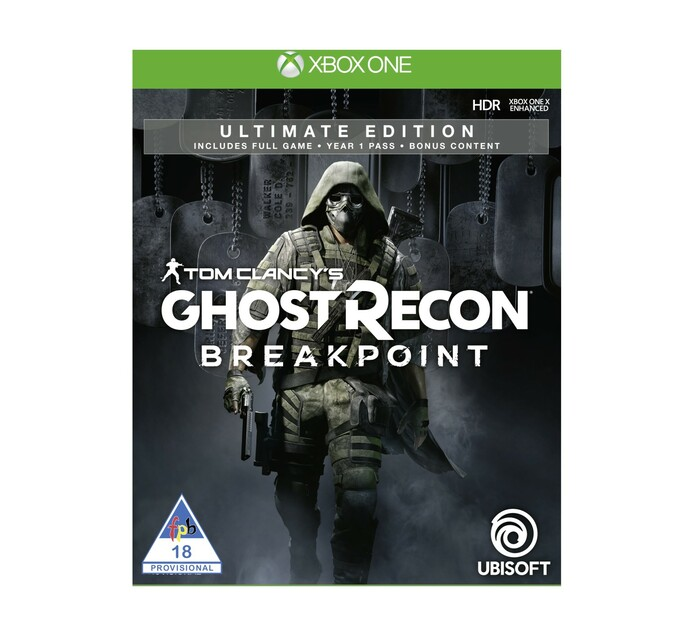 XBOX ONE Ghost Recon Breakpoint Ultimate Edition - Available 1 October 19